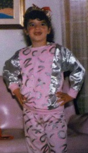 My mom didn't always make good decisions with my outfits.