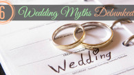 6 Wedding Myths Debunked @pinkmitten.com