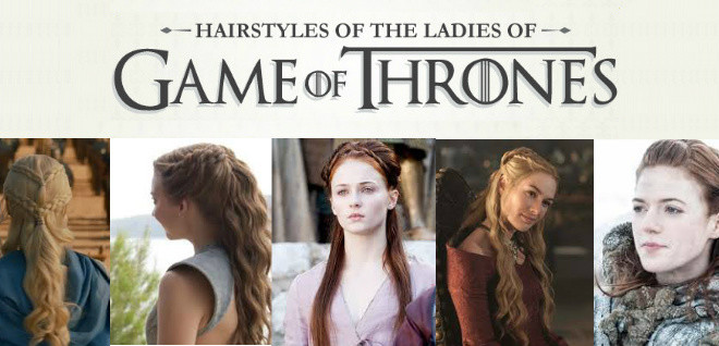 Ultimate Collection of Game of Thrones Hairstyle Tutorials @pinkmitten.com #GoT #GameofThrones #hairstyle