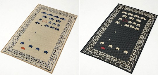 Space Invaders Rug (Featured on pinkmitten.com) #geekrugs #geekhhome