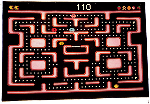 Pacman Rug (Featured on pinkmitten.com) #geekrugs #geekhhome