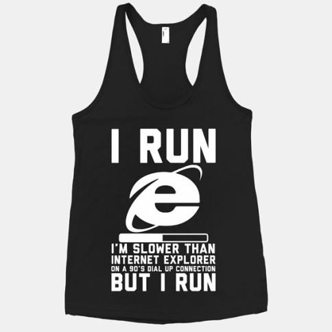 Internet Explorer workout clothes. Featured on pinkmitten.com #workoutclothes #exerciseclothes