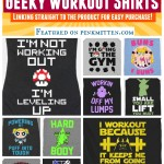 Ultimate Collection of Geek Workout Shirts