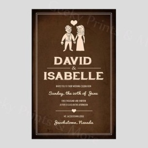 Fallout Wedding Invitation