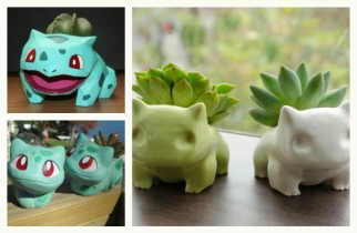 Collection of the Best Bulbasaur Pokemon Garden Pots as featured on @pinkmitten. #gardenpot #flowerpot #plantpot #Pokemon #bulbasaur