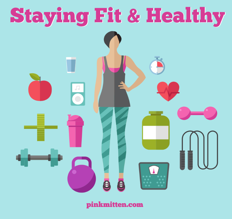 Tips to stay fit & healthy