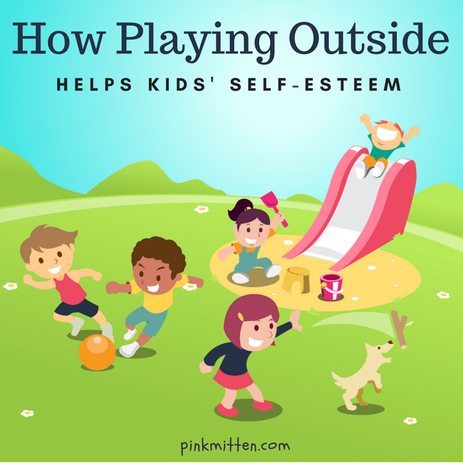How Playing Outside Helps Improves Kids' Self-Esteem