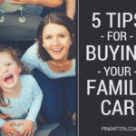 5 Tips for Buying your First Family Car